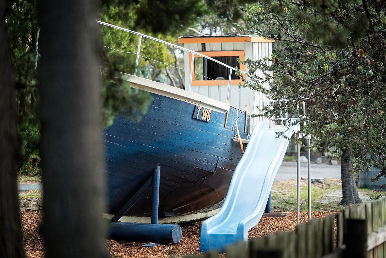 Playground Accommodation motel Bicheno by the Bay East Coast Tasmania